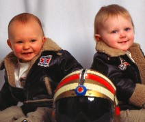 Our 2 Grandson's Nick and Mason